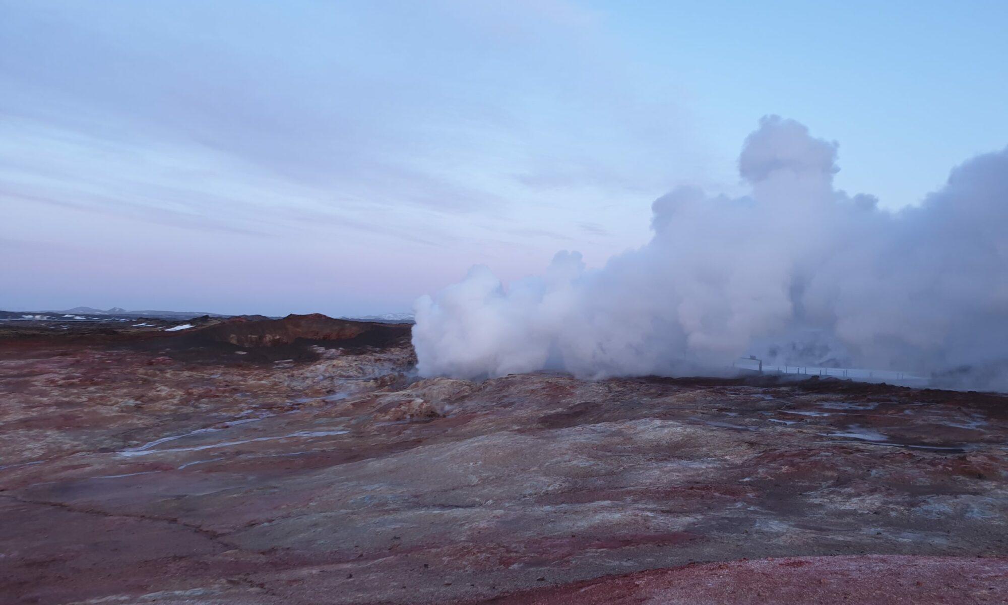 Jarðfræði á Íslandi